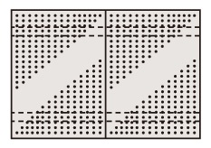 【代引き不可】 ステンレスパンチングウォールシステム PO-602LSU4