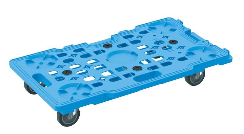 【代引き不可】 サカエメッシュキャリー(五輪車仕様)10台セット SCR-M700EKBX