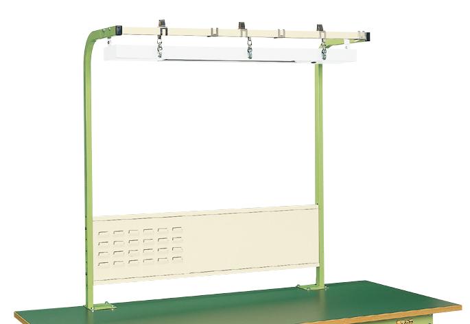 【代引き不可】 ワークライト(LEDライト)付フリーハンガー SL-900