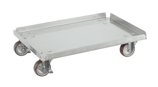 【代引き不可】 ステンレスコンテナ台車 SUC-50D
