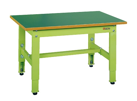 【代引き不可】 低床用軽量高さ調整作業台TKK4タイプ TKK4-096F