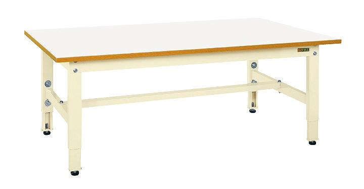 【代引き不可】 低床用軽量高さ調整作業台TKK4タイプ TKK4-126FIV