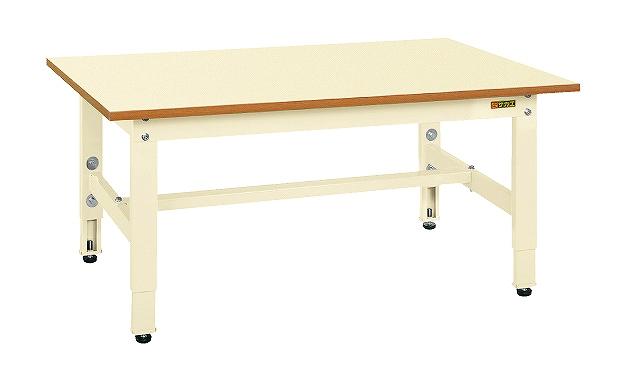 【代引き不可】 低床用軽量高さ調整作業台TKK4タイプ TKK4-127PI