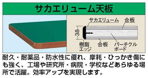 【代引き不可】 重量用天板 W-9060FTC