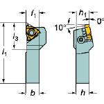 サンドビック T-Max U-ロック 小型旋盤用ねじ切りシャンクバイト R166.4FA161616S [610-0317] 【TA式旋削工具】[R166.4FA-1616-16-S]