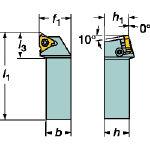 サンドビック T-Max U-ロック ねじ切りシャンクバイト L166.4FG161616 [606-4230] 【TA式旋削工具】[L166.4FG-1616-16]
