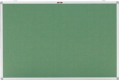 【メーカー直送 代引不可】TRUSCO エコロジ-クロス掲示板 600X900 グリーン 暗線入り KE23SGA [329-4617] 【オフィスボード】[KE-23SGA]
