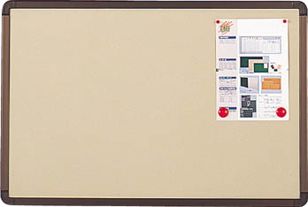 【メーカー直送 代引不可】TRUSCO ブロンズ掲示板 900X1800 ベージュ YBE36SBM [284-5709] 【オフィスボード】[YBE-36SBM]