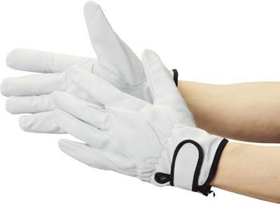 送料無料 合計10 000円以上で代引き手数料無料 TRUSCO 驚きの価格が実現 豚革裏地付マジック止め式手袋M 手袋 TYK717M 受賞店 TYK-717M 286-8555