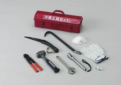 【送料無料!工具セットがお買い得価格】TRUSCO 災害工具セット TRCCSET [325-4216] 【復旧用品】[TRC-C-SET]