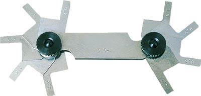 【送料無料!TRUSCO工具が安い(トラスコ中山)】TRUSCO C面測定ゲージ 測定範囲5.5~10.0mm 10枚組 C10 [229-6462] 【ゲージ】[C-10]