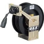 OKS アースリール スプリング式 5.5×1 20mケーブル付 ERDA2 [333-8991] 【電源リール】[ERD-A2]