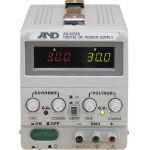 【送料無料!TRUSCO工具 格安特価(トラスコ中山)】A&D 直流安定化電源トラッキング動作可能LEDデジタル表示 AD8735D [323-9632] 【電源装置】[AD8735D]