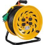 【送料無料!電工ドラム(コードリール)が割引価格】日動 電工ドラム 標準型100Vドラム アース付 30m NFE34 [125-5622] 【コードリール】[NF-E34]