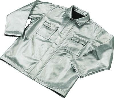 【送料無料!保護作業服が割引価格】TRUSCO スーパープラチナ遮熱作業服 上着 Lサイズ TSP1L [287-8852] 【保護服】[TSP-1L]