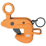 【送料無料!各種クランプがお買い得価格】スーパー 横吊クランプ(ロックハンドル式)ワイドタイプ HLC1WH [104-1771] 【吊りクランプ】[HLC1WH]