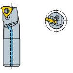 サンドビック コロスレッド266 ねじ切りボーリングバイト 266LKF2516R [362-4846] 【TA式旋削工具】[266LKF-25-16-R]