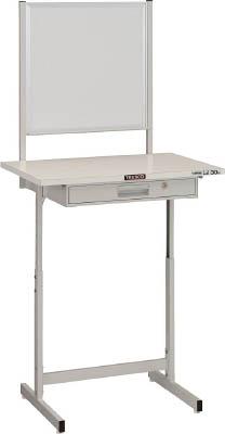 【送料無料!TRUSCO工具が安い(トラスコ中山)】TRUSCO 小型作業デスク ホワイトボード付 700X450 W色 VU701WW [393-3181] 【小型作業台】[VU-701WW]