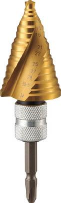 【送料無料!TRUSCO工具が安い(トラスコ中山)】TRUSCO ナイスマイティ 27mm ドライバービットタイプ 2SNMS27EGH [391-1594] 【ステップドリル】[2S-NMS-27EG-H]
