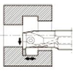 【送料無料!TRUSCO工具が安い(トラスコ中山)】京セラ 溝入れ用ホルダ   KIGMR4032B4V [652-4265] 【ホルダー】[KIGMR4032B-4V]