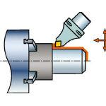 【送料無料!TRUSCO工具が安い(トラスコ中山)】サンドビック コロマントキャプト コロターンRC用カッティングヘッド C6DCMNN0011512 [607-7811] 【ホルダー】[C6-DCMNN-00115-12]