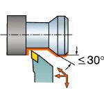 【送料無料!TRUSCO工具 激安特価(トラスコ中山)】サンドビック QSホールディングシステム コロターン107用バイト QSSDJCR1212E11 [607-5347] 【ホルダー】[QS-SDJCR1212E11]