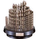 【送料無料!TRUSCO工具 格安特価(トラスコ中山)】IS コバルト正宗ドリル 100本組セット COD100RS [302-2501] 【ドリルセット】[COD-100RS]