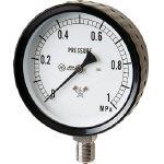 【送料無料!空圧エアー用圧力計が割引価格】右下 ステンレス圧力計 G4112610.1MP [332-8147] 【圧力計】[G411-261-0.1MP]