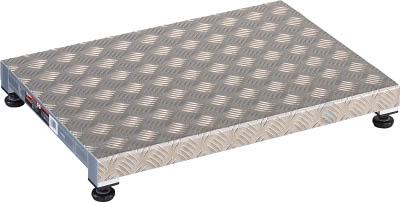 【送料無料!足場台・踏み台が超安い!】TRUSCO 低床用アルミ製ステップ 600X450XH90~120 TFS0645AL [336-2256] 【作業用踏台】[TFS-0645AL]