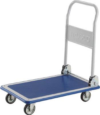 【送料無料!TRUSCO工具が安い(トラスコ中山)】TRUSCO ドンキーカート 折りたたみ式810×510 201N [414-5151] 【プレス製運搬車】[201N]
