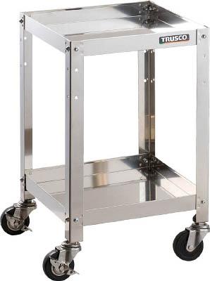 【送料無料!TRUSCO工具が安い(トラスコ中山)】TRUSCO クリーンラビット 75φ導電車SUS金具 CRB632SD [408-6422] 【ステンレス製ワゴン】[CRB-632SD]
