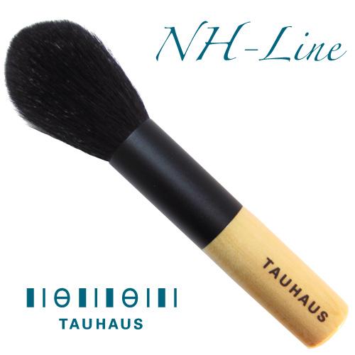 コンパクトな 信用 上品ナチュラル派 タウハウス TAUHAUS メイクブラシ 至高 チーク フェイス 山羊 丸 タウハウス《熊野筆》NH-Lineチークブラシ 粗光峰 NH-CK-20G-R 熊野筆 20G-R