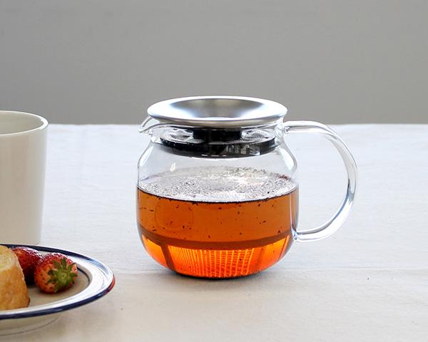キントー ワンタッチ ティーポット 450ml 8684 KINTO 【あす楽対応】【紅茶】【ラッキーシール対応】