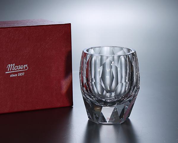 モーゼル キュビズム 29821 タンブラー 220ml クリア 【クリスタル グラス オールドファッション】【ラッキーシール対応】