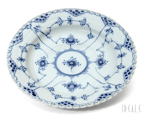 ロイヤルコペンハーゲン ブルーフルーテッド フルレース プレート 25cm Royal Copenhagen Blue Fluted Full Lace 【あす楽対応】【お皿】【ラッキーシール対応】