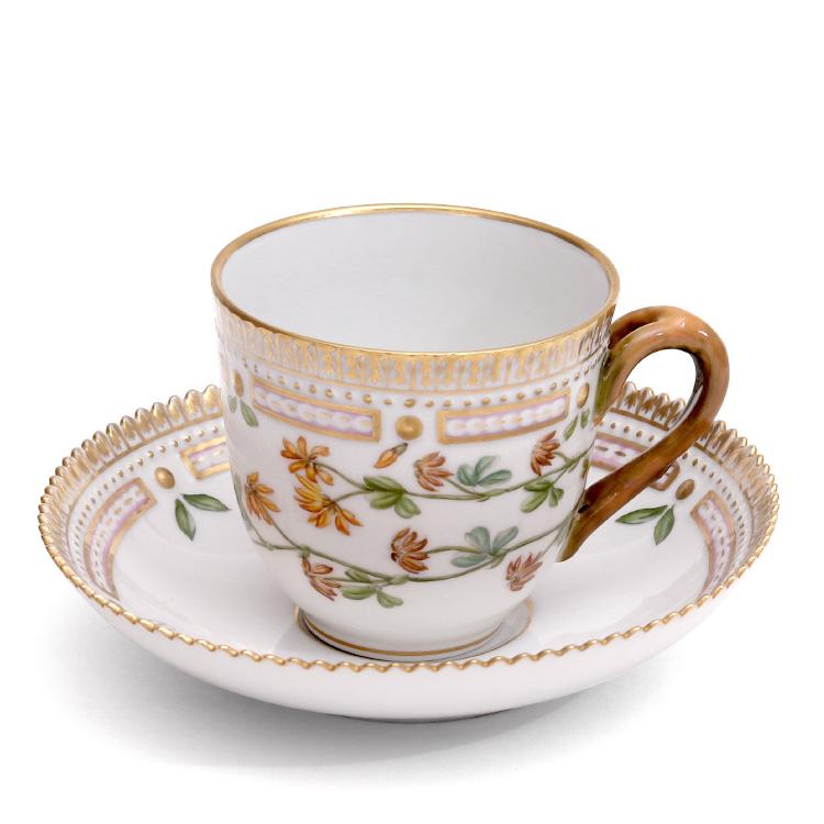 ロイヤルコペンハーゲン 141 フローラダニカ 071 コーヒー カップ&ソーサー (2) 【あす楽対応】【ギフト】