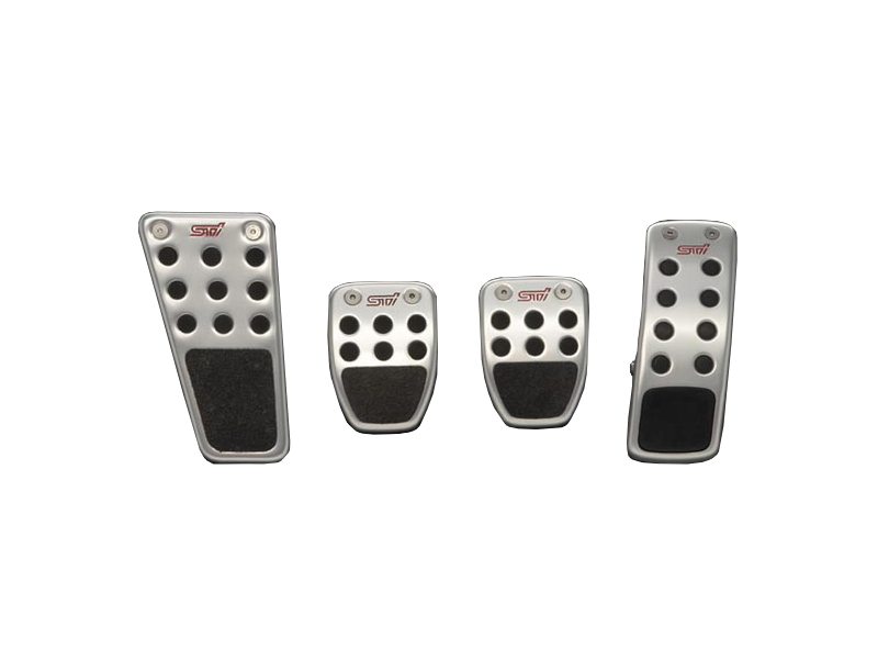 【STI-スバル】2010.11~/フォレスター2.0X-MT/2.0XS-MTペダルパッドセット(MT)「車種記号:C」【SaM】【コンビニ受取対応商品】