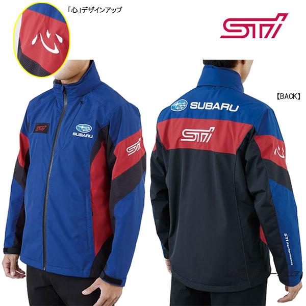 【スバルSTI】SUBARU/STIチームジャケット「心」デザイン(S/M/L/XL/3L)撥水ジャケット【SUBARUオフィシャル】チームウェアSTSG19101020-STSG19101060【代引不可】