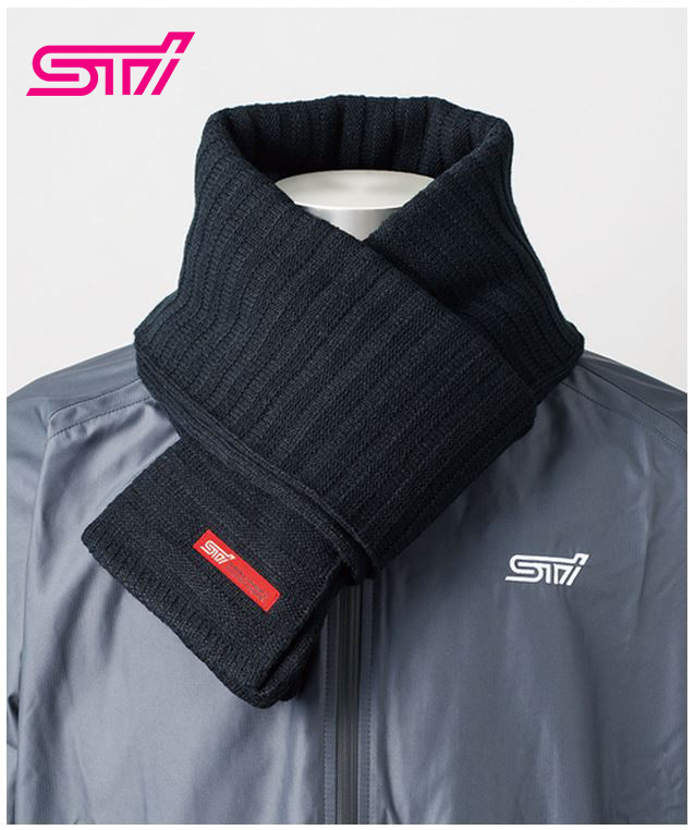 【STI-スバル】New!STIニットマフラーknitmufflerSTSG13100720【コンビニ受取対応商品】