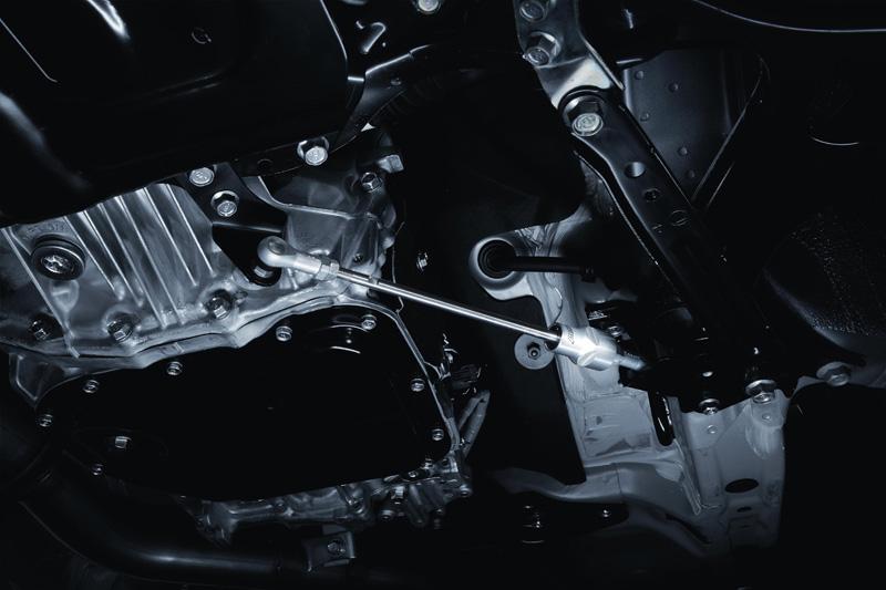 【STI-スバル】『ST20118MF000』SPORTS PARTS for IMPREZA XVインプレッサXV用 STIフレキシブルドロースティフナー【コンビニ受取対応商品】
