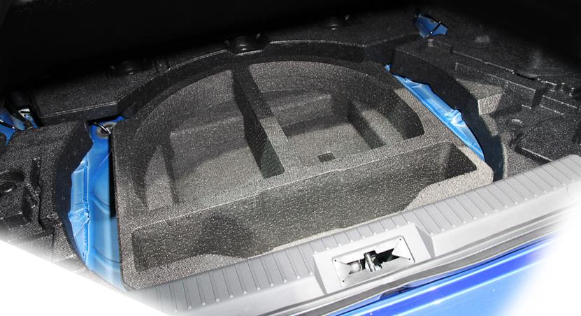 【STI-スバル】【代引不可】『91146CA000』SPORTS PARTS for BRZBRZ用 サブトランクボックス/リアフロア
