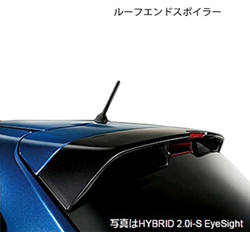 【STI-スバル】「96031FJ000」SPORTS PARTS for IMPREZA SPORT HYBRID インプレッサスポーツハイブリット標準装備リヤルーフエンドスポイラー(ROOF SPOILER)【SaM】