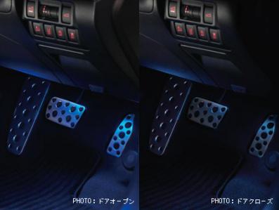 【スバル純正】H7017AL000 フットランプレガシィ(BS/BN)用オプション品