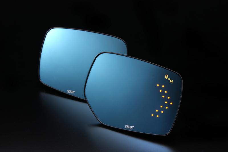 【STI-スバル】アンチグレアドアミラー(LED) LEVORG/WRX STI/S4 /IMPREZA/XV等【SaM】【コンビニ受取対応商品】