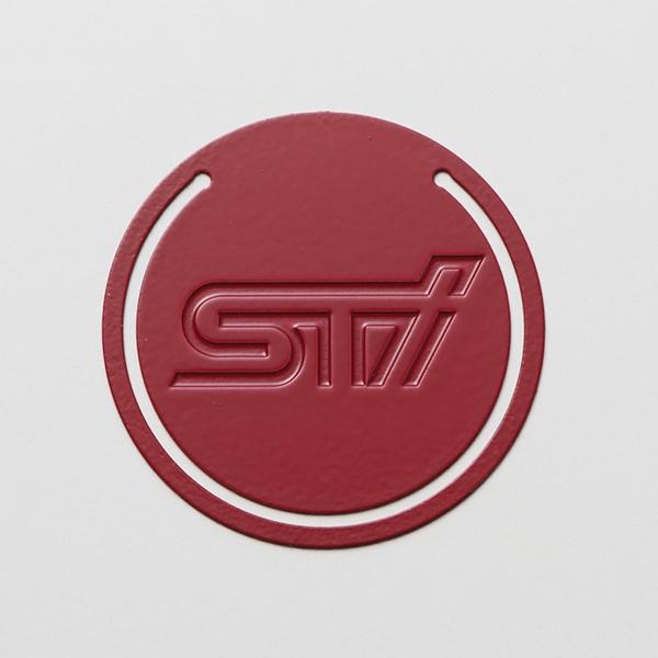 【取寄品】お取り寄せの為、納期がかかります。 【正規品】【純正品】 【STI-スバル】STSG16100950 ステンレスクリップ(STIロゴ)