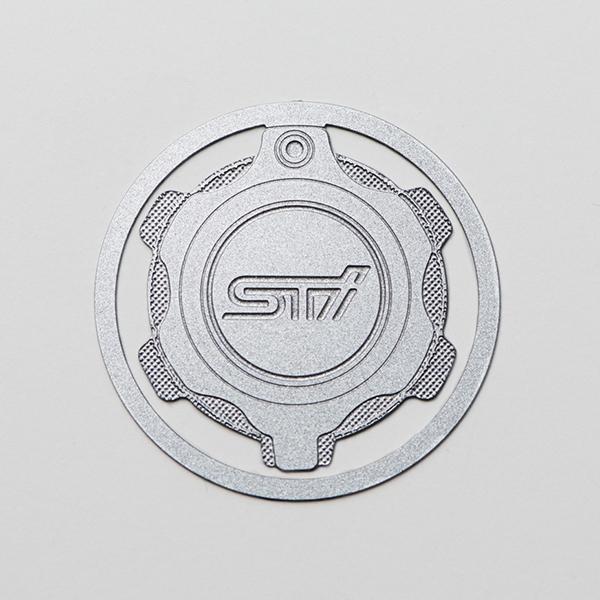 マーケティング 取寄品 お取り寄せの為 納期がかかります 正規品 純正品 ステンレスクリップ オイルフィラーキャップ 限定価格セール STSG16100960 STI-スバル