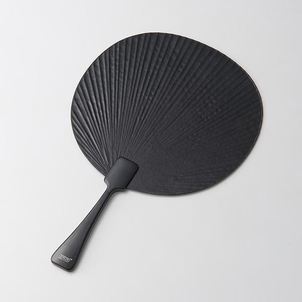 【STI-スバル】STSG17100020 革団扇【SaM】【コンビニ受取対応商品】