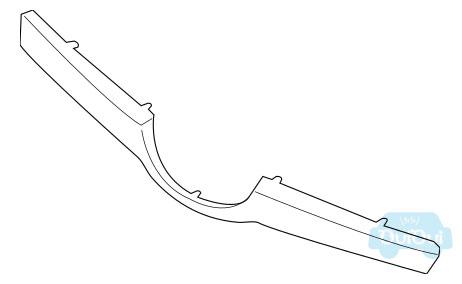 【スバル純正品】91123SJ110 フロントグリルモールディング センター フォレスター・SK X‐BREAK(標準装着品)【SUBARU純正部品】MOLDING-FRONT GRILLE CENTER