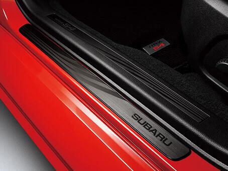 【STI-スバル】E1017VA700 WRX S4用サイドシルプレートステンレス製/スバル純正部品【SaM】【コンビニNG】