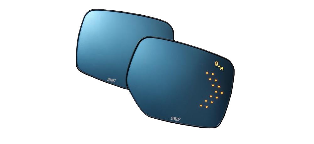 【STI-スバル】ST91039ST100 アンチグレアドアミラー(LED)【ASP/ESP SRVD対応】フォレスター(SJ)レガシィB4(BN)アウトバック(BS)用【SaM】【コンビニ受取対応商品】